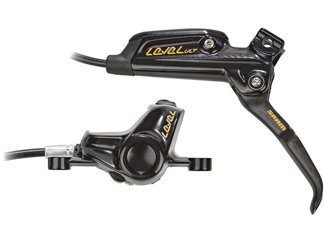 SRAM Level Ultimate Gold Scheibenbremse VR schwarz-gold